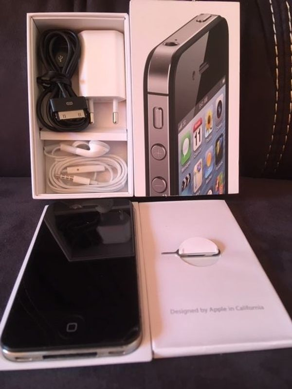 IPHONE 4 -16 GB SCHWARZ