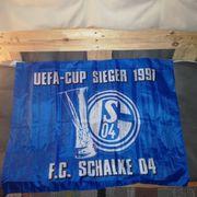 Fahne FC Schalke 04 UefaCup