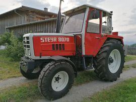 Bild 4 - Traktor STEYR 8070 - Lustenau
