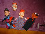 Handpuppen für das Kasperle-Theater alt