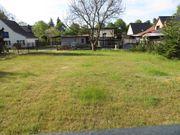 Grundstück im grünen mit Nebengelass