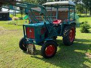 Traktor Oldtimer Hanomag Perfekt 401