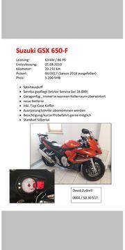 Verkaufe Suzuki GSX U50- F