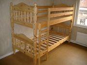Etagen Doppelbett massivholz Kiefer