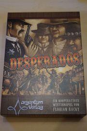 Brettspiel Desperados werde zur Western