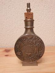 Schnupftabakdose aus Zinn Vintage alt