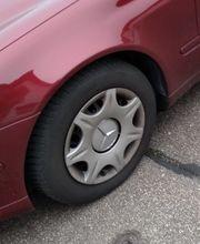 4 Winter-Reifen mit Mercedes Felgen