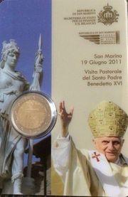 San Marino 2 Euro Kursmünze