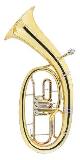 Blasinstrumente - V F Cerveny Tenorhorn CTH