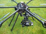 CarbonCore Hex950 LegSet Flugbereit mit