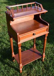 Telefonschränkchen Tisch antik 90x30x45 cm