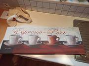 Espresso-Bar Wandbild