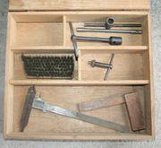 Tischlerkiste mit Werkzeugen