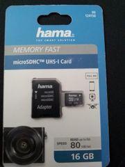 Memory Fast UHS-l Card