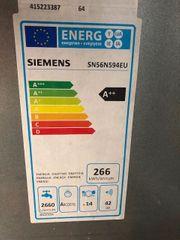 Energiesparender und leiser Geschirrspüler