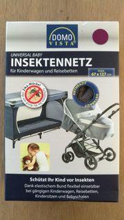 INSEKTENNETZ für Kinderwagen Gitterbett Autositz