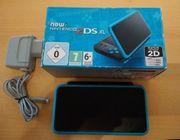 New Nintendo 2DS XL schwarz