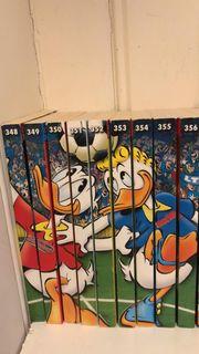 Donald Duck Comic Sammlung ca