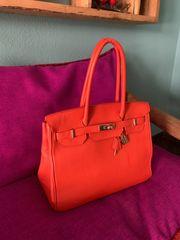 Tasche Handtasche Hermes Birkin Style