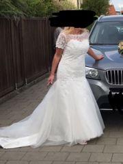 Brautkleid Gr M weiß Hochzeitskleid