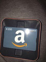 Amazon Gutschein 200