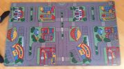 Kinder Spielteppich Straßenmotiv
