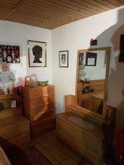 Ehebett mit Bettkasten und kleinen