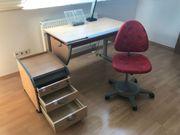 Moll Schreibtisch komplett Set neuwertig