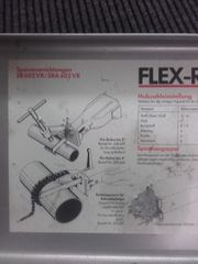 Flex-Rohrsäbelsäge