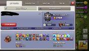 clash of clans rh10 max