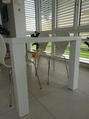 Tisch Weiss 90×160 mit 4
