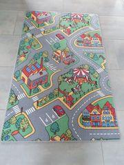Teppich für Kinderzimmer mit Strassen