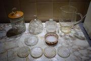 Glasgeschirr 10 Teile