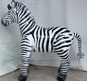 Aufblasbares Zebra neu