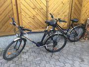 1Damen und 1Herren Fahrrad