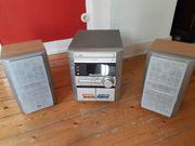 Stereoanlage LG mit 2 Lautsprächerboxen