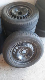 Winter Reifen mit Stahlfelgen