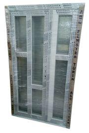 Kunststoff Haustüre 120x205 cm weiß