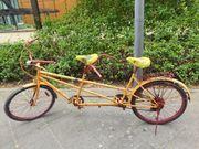 Tandem Fahrrad 26 Zoll Klassiker