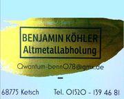 Kostenlose Schrott Alteisen Altmetall