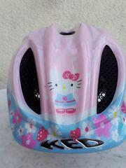 KED Kinder Fahrradhelm Hello Kitty