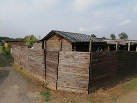 Schrebergärten, Wochenendhäuser - Holzblockhaus