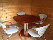 Wohnzimmer- Esstisch mit 4 Stühlen