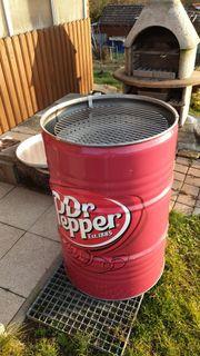 Dr Pepper BBQ Grill Tonne