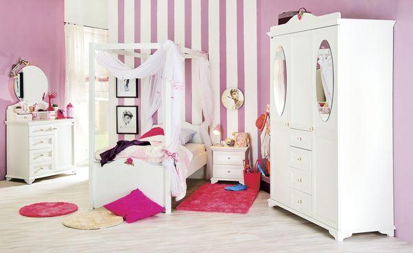 Jugendzimmer Mädchen weiß Fairytale