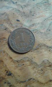 1 cent 1900 Nederland