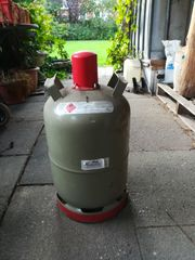Propangasflasche 11 kg grau