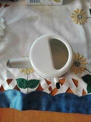 alt Emaille Schnabel Tasse