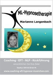 München Hypnose Coaching EFT-Klopftechnik Rückführung