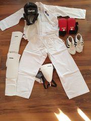 Karate Ausrüstung vollständig